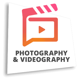 Photography & videography production and editing possible zone marketing